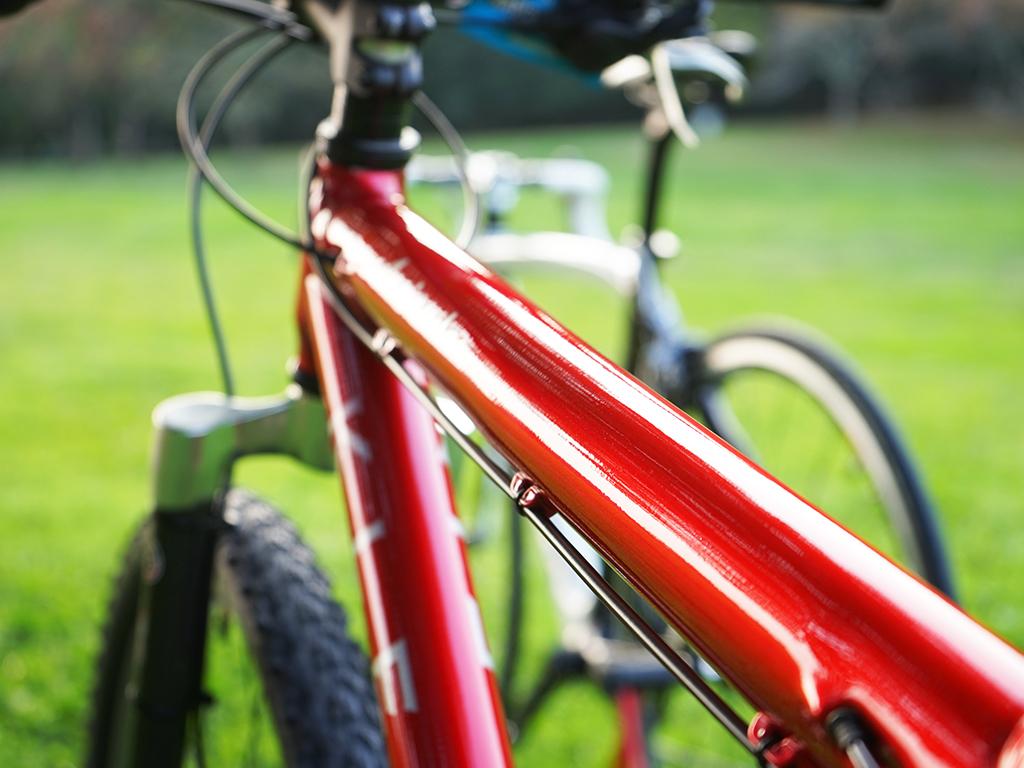 自転車コーティング
